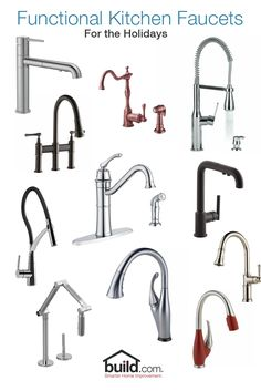 Have a stress free holiday this year and make sure you upgrade to a functional kitchen faucet. Spend less time dealing with the unwanted dishes and more time with the family.