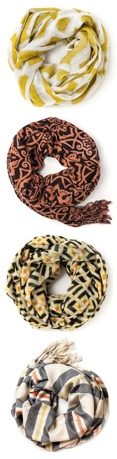 Love the fun colors and patterns Passion For Fashion, Love Fashion, Spring Fashion, Cute Scarfs, Summer Scarves, Cuddles, Fashion Advice, Girly Things, Fashion Forward