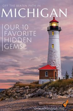 If you're taking a weekend road trip or a full vacation with the kids to Michigan, don't miss our 10 favorite places that are more unique and quiet and off the beaten path. The Upper Peninsula is amazing! So much exploring! Don't forget Mackinac Island, Traverse City and Torch Lake. If you're going to travel, go big with all the lighthouses and amazing destinations. We'll help you find your perfect bucket list destinations in Michigan. #usatravel #travel #rvtravel #michgan #UStravel…
