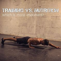 Reposting @fitphilh: READ THE CAPTION BELOW!😏 🔹 #TRAINING 🏋🏽 vs. #NUTRITION 🍏 Which is more important? 🔹 I often get questions like: If I want to just build muscle, do I also have to watch my diet? I want to lose weight, do I have to train? How do I have to train to tone my body more? What are the best foods for muscle growth? 🔹 ☝🏼 Let's break this down 🔬 🔹