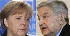 Merkel and Soros. If Soros wants a million a year, let him buy an island and live with them! George Soros, the Original Old Dirty Bastard!