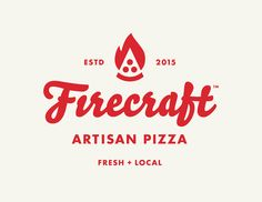 Firecraft Artisan Pizza on Behance