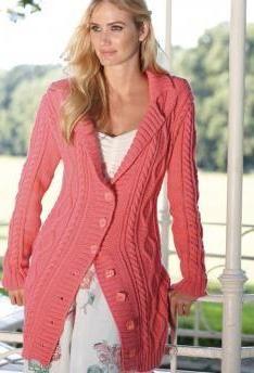 Ladies' Jacket, S8453 | Schachenmayr.com FREE PATTERN