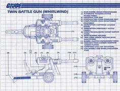 Twin Battle Gun (Whirlwind)