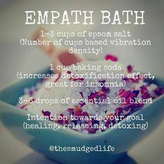 Spiritual Bath, Spiritual Cleansing, Healing, Essential Oil Blends, Essential Oils, Lotion, Wiccan Spell Book, Bath Recipes, Herbal Magic