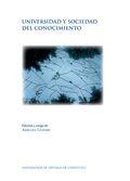 Universidad y sociedad del conocimiento / edición a cargo de Adriana Gewerc
