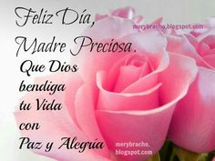Happy Mothers Day Quotes and Messages in Spanish - Season's Greetings Short Mothers Day Quotes, Happy Mother Day Quotes, Mother Day Wishes, Mothers Day Cards, Happy Birthday Mom, Happy Birthday Messages, Birthday Quotes, Morhers Day, Mom Day