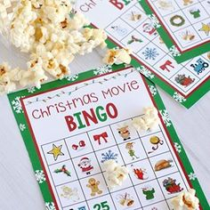 Ok, this holiday season I want you to out in your favorite holiday movie with your family and play hard Christmas Movie Bingo game! Watch the movie, mark off the things you see and get Bingo! It will work with any holiday movie!
