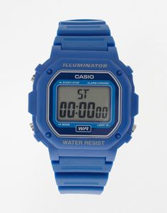 Super fede Casio F-108WH-2AEF Digital Illuminator Watch - Blue Casio Ure til Herrer i lækker kvalitet