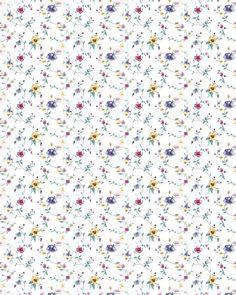 Download Dollhouse Wallpaper Floral 04