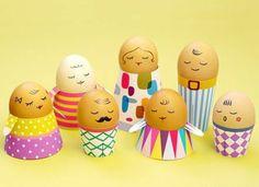 Ostern, Ostereier, Gesicht, Gruppe, Mamas Kram, Gestalten, Dekorieren, Ostern  Basteln Für Kinder, Osterideen