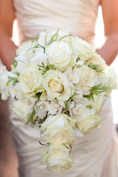 White-Rose-and-Orchid-Bouquet