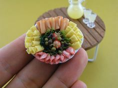 Unbelievably Tiny Foodscapes: Miniature Food Made of Clay at a 1:12 Scale | Jeannie Huang