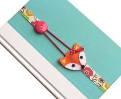 Elastic Ribbon Bookmark Planner Accessories Girls by BabyWhatKnots