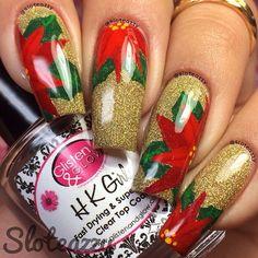CHRISTMAS by sloteazzy #nail #nails #nailart