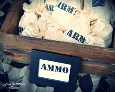 Army Boot Camp Birthday Party Ideas | Photo 1 of 28 | Catch My Party