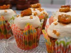Cupcakes de banana caramelo