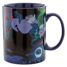 Disney Villains Ursula Mug | Disney StoreDisney Villains Ursula Mug - Some mornings a poor, unfortunate soul would trade anything for a potent potion. Ursula the sea-witch has a deal brewing in her mega-sized hot beverage mug that will drown your drowsiness with dazzling art from Disney's The Little Mermaid.