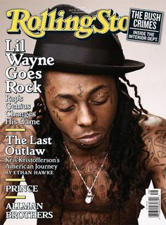 I think Lil' Wayne is one of the most interesting and talented people in the music industry