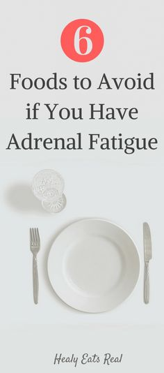 Hypothyroidism Diet - 6 Foods to Avoid on Any Adrenal Fatigue Diet! If you have adrenal fatigue, do your hormones and metabolism a favor and avoid these foods for full recovery! - Get the Entire Hypothyroidism Revolution System Today Fadiga Adrenal, Adrenal Fatigue Treatment, Adrenal Fatigue Symptoms, Chronic Fatigue Syndrome Diet, Adrenal Health, Adrenal Glands, Adrenal Stress, Adrenal Failure, Adrenal Burnout