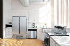 Stock Photo : sunlit kitchen interior 2