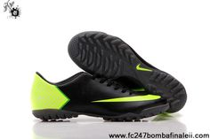 Wholesale Cheap Nike Mercurial Vapor X TF Black Football Shoes For SaleFootball Boots For Sale