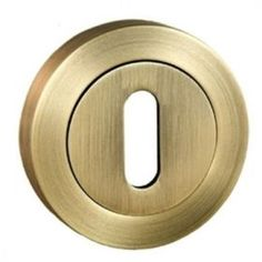 The Atlantic OE-ESC-K-AB is a key escutcheon that will match any old English handles with codes starting in 'OE'. It comes in a high quality Antique Brass finish.