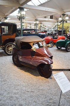 Scott Type Tricar. Inglaterra 1923. Collection Schlumpf - Cité de l'Automobile. Mulhouse car museum. Classic car. Foto Xabi Albizu