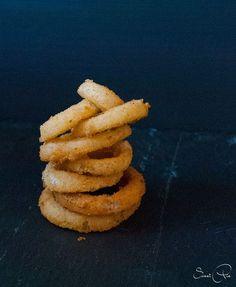 Onion Rings - frittierte Zwiebelringe - SweetPie