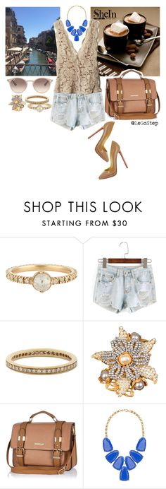 """""""Summer 2016 #93"""" by legostep ❤ liked on Polyvore featuring Anaconda, Miriam Haskell, STELLA McCARTNEY, River Island, Kendra Scott, Ray-Ban and Christian Louboutin"""