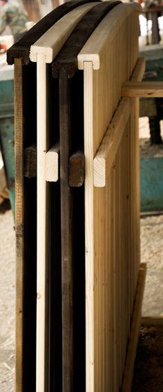 Sectiune transversala a unor modele de gard din lemn - Mobina SRL Suceava Door Handles, Doors, Design, Home Decor, Door Knobs, Decoration Home, Room Decor, Home Interior Design