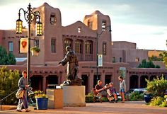 Santa Fe, New Mexico has a quaint town center with great shops. The Georgia O'Keef Museum is a must see and the outdoor market is a fun experience. And of course the southwest cuisine is wonderful!