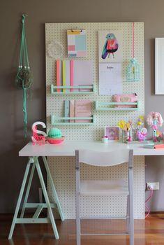 Pegboard >> a nova tendência de decoração!