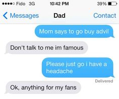 They're way too cocky: | 26 Reasons Why Parents Shouldn't Be Allowed To Have Phones