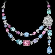 Collar Limelight Garden Party - Piaget Rosa