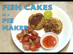 Fish Cakes in a Pie Maker Cheekyricho cooking video recipe ep. Who ever said Pie Makers are just for pies hasn't seen our Pie Maker Playlist and here i. Fish Patties, Salmon Patties, How To Make Fish, How To Make Cake, Cooking Videos, Food Videos, Easy Fish Cakes, Snack Recipes, Healthy Recipes