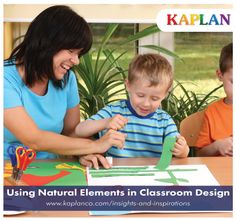 Bring the classroom to life with inspiring ideas for using natural elements in classroom design!