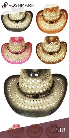 Cowboy hat cap cowgirl fashion western men women This Hats And Caps Western Cowboy Hats Which Is Called Cowboy Hat 023 Mix Color Is From Our Finest Collection. . We Believe That You Will Feel The Difference And Appreciate When You Receive This Cowboy Hat 023 Mix Color. If You Want To Grab Your Friends' Attention This Cowboy Hat 023 Mix Color Would Be The Best Option That You Might Have. Related Products Accessories Hats