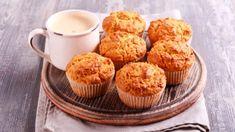 Receta de magdalenas de calabaza Cupcakes, Printables, Breakfast, Food, Club, Nice, Squash Muffins, Dessert Recipes, Cookies