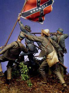 Burgwyn and the 26th North Carolina at Gettysburg, July 1, 1863.jpg