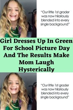 Girl Dresses Up In Green For School Picture Day And The Results Make Mom Laugh Hysterically Clean Funny Jokes, Lame Jokes, Terrible Jokes, Love You Funny, Seriously Funny, Really Funny, Funny Facts, Wtf Funny, Crazy Funny