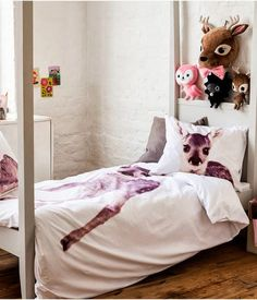 the boo and the boy: eclectic kids' rooms. Most of this is from h&m