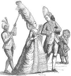 Peinados rococó del siglo XVIII