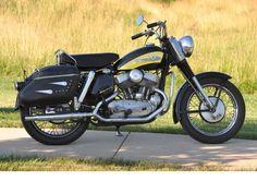 harley-davidson khk   1956 Harley-Davidson KHK Engine no. KHK2213