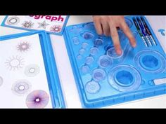 Create a stunning design using this cool Spirograph Deluxe Kit for only $24.99.