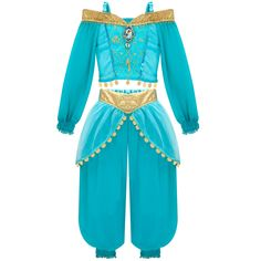 Jasmine Costume | Complemento Disfraz - Disney Princess Jasmine Jewelry Set (Disfraces ...