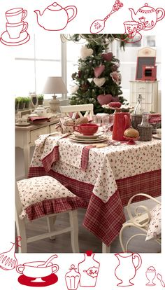 country chic christmas in Tuscany