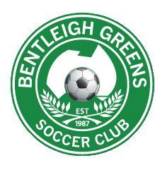 1987, Bentleigh Greens SC (Cheltenham, Australia) #BentleighGreensSC #Cheltenham #Australia (L18611)