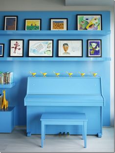 """8 Painted Pianos that will Make You Say, """"Where's My Paintbrush?"""" - The Bold Abode"""