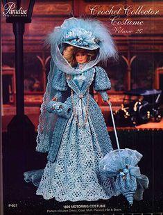 Barbie, Crochet Collector Costume Vol. 26